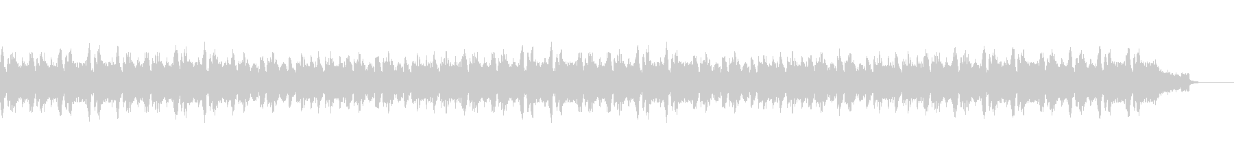 ミステリアスなクラシカルBGMの未再生の波形