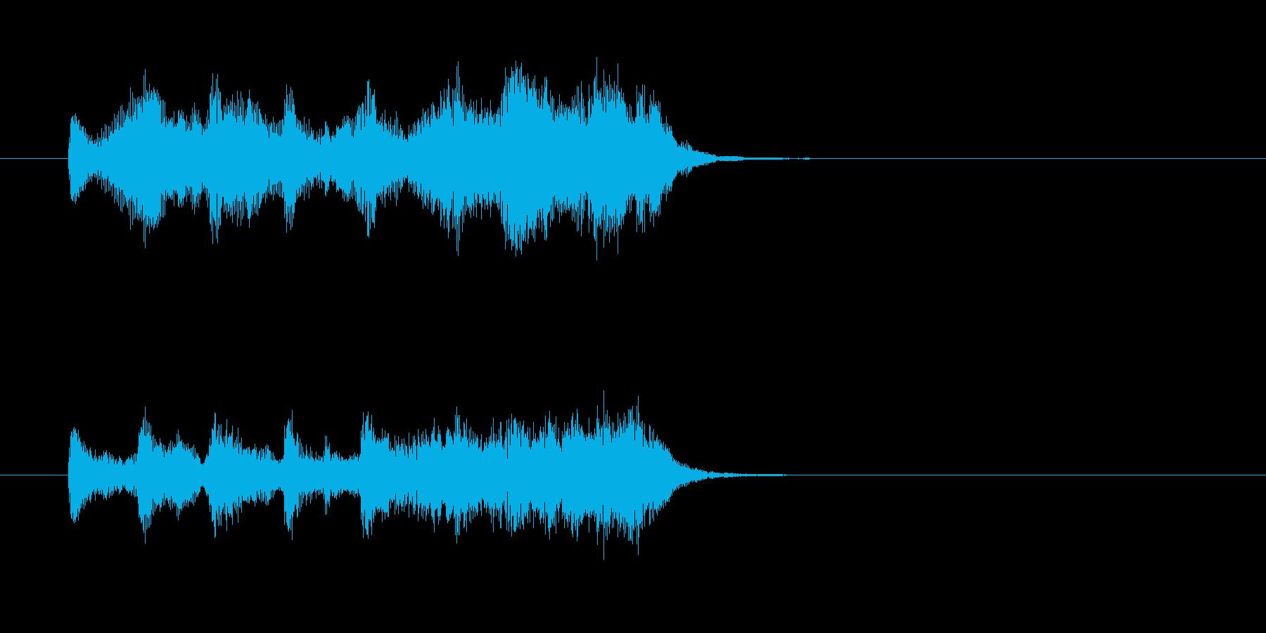 ストリングス パーカッション 壮大の再生済みの波形