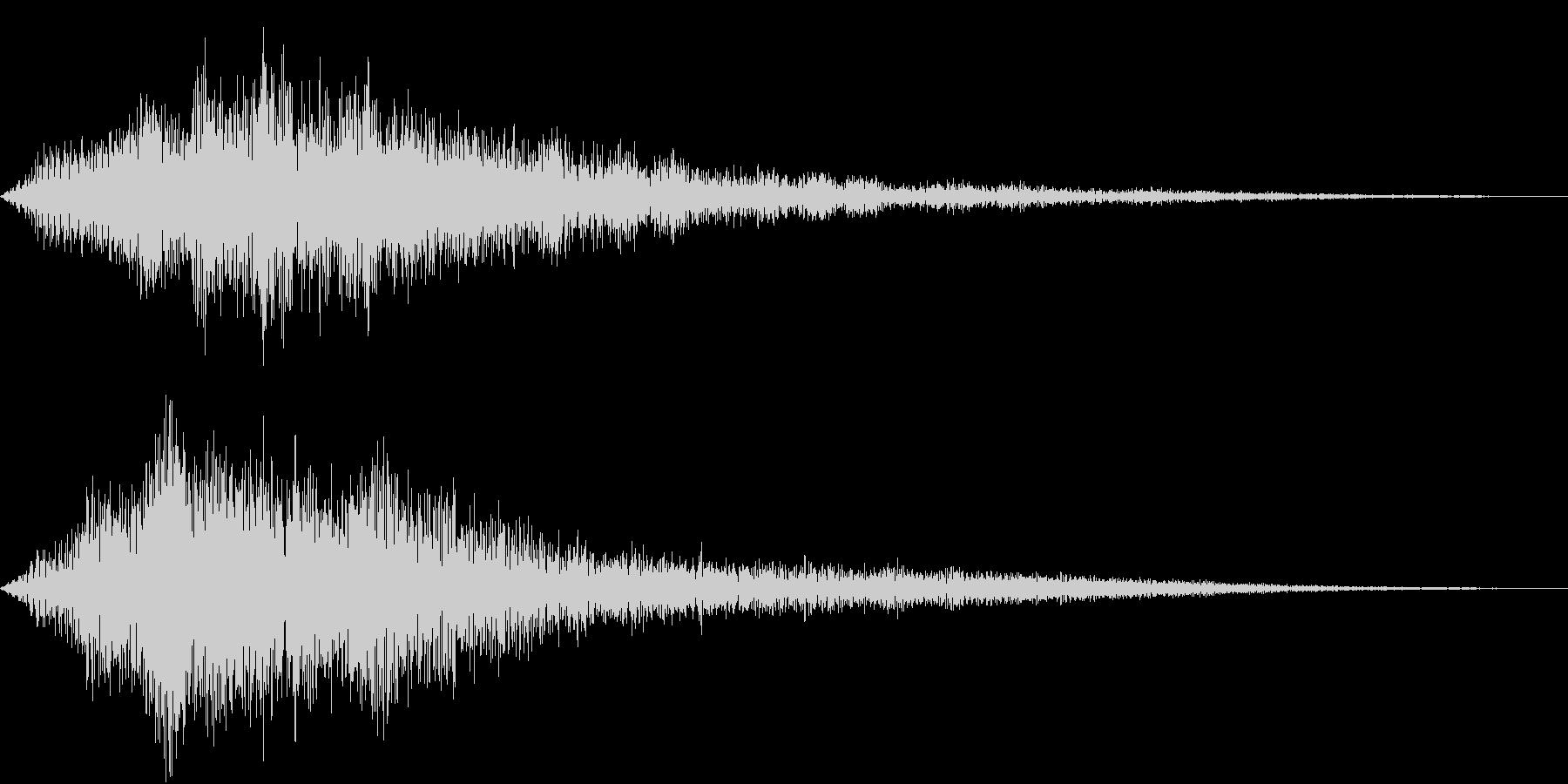 VOX ダーティーなコーラスPAD 4の未再生の波形