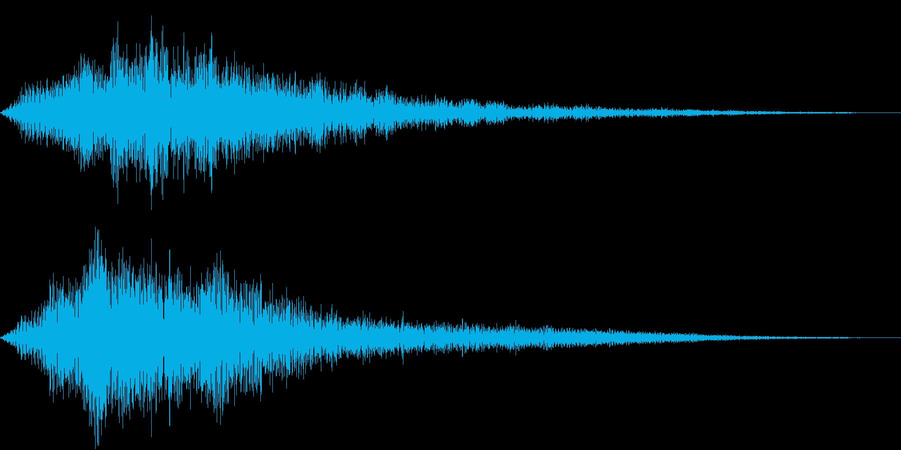 VOX ダーティーなコーラスPAD 4の再生済みの波形