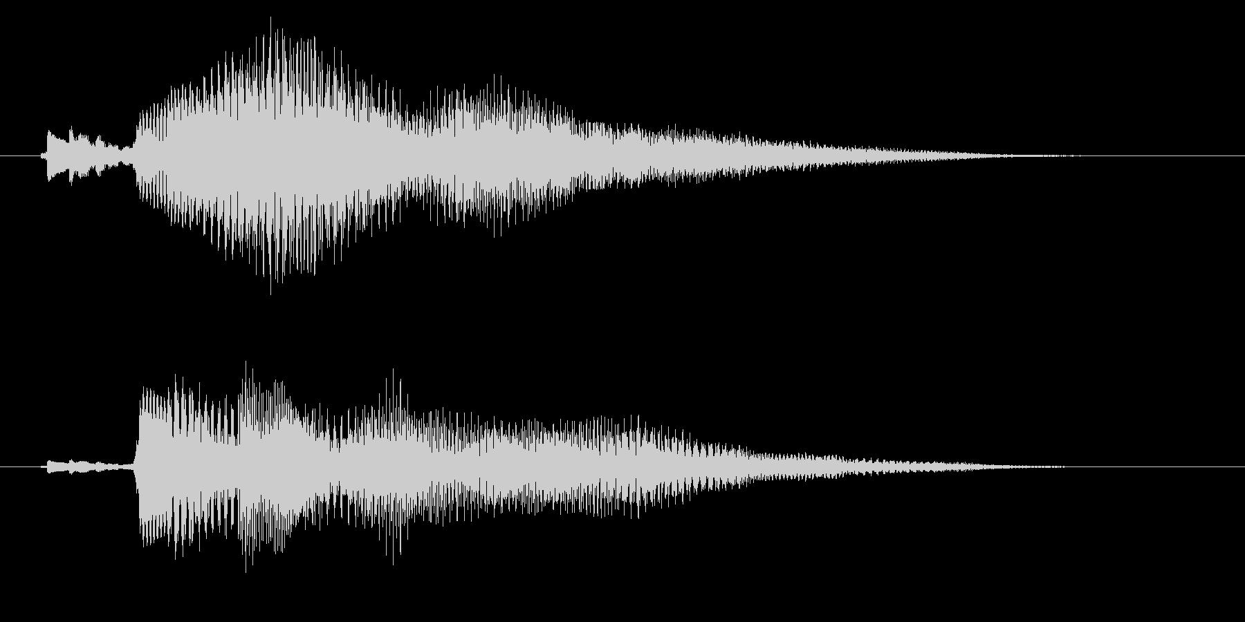 チリリーンの未再生の波形
