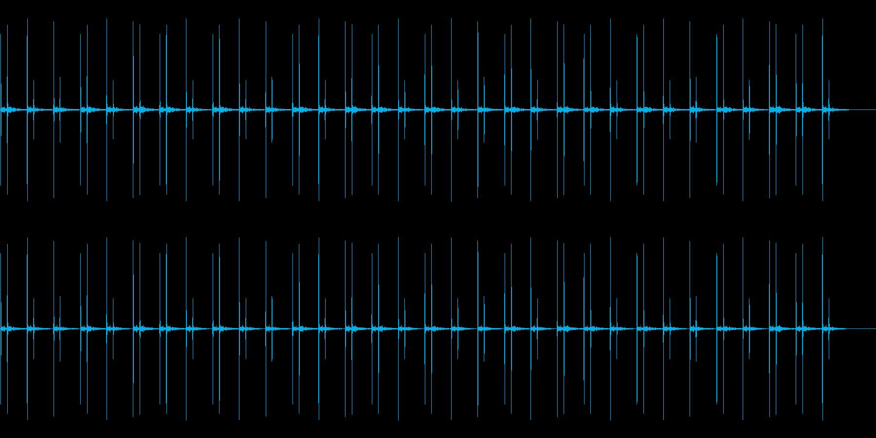 ドクン(心臓の音です)の再生済みの波形