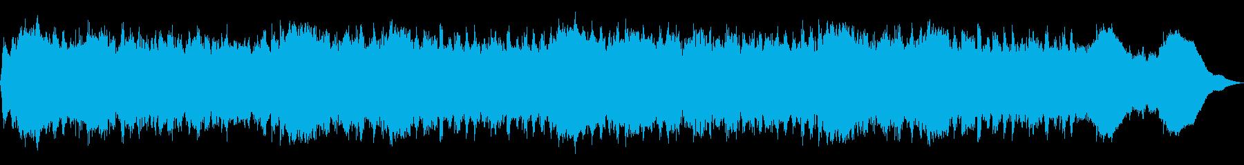 テーマ「走る」30秒BGMの再生済みの波形