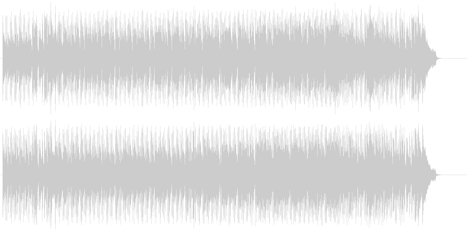 穏やかな情報向けボサノバ/ポップの未再生の波形