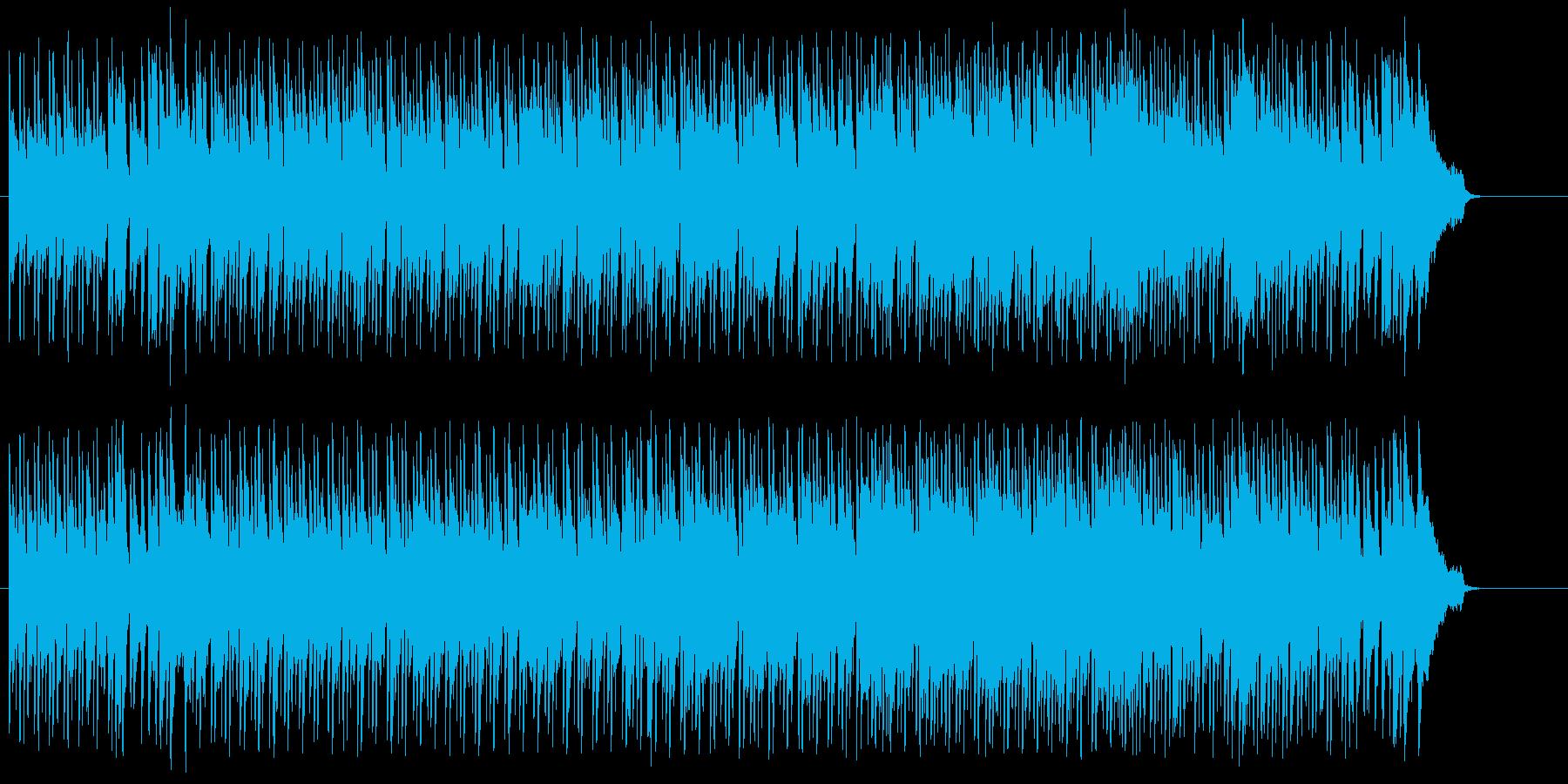 穏やかな情報向けボサノバ/ポップの再生済みの波形