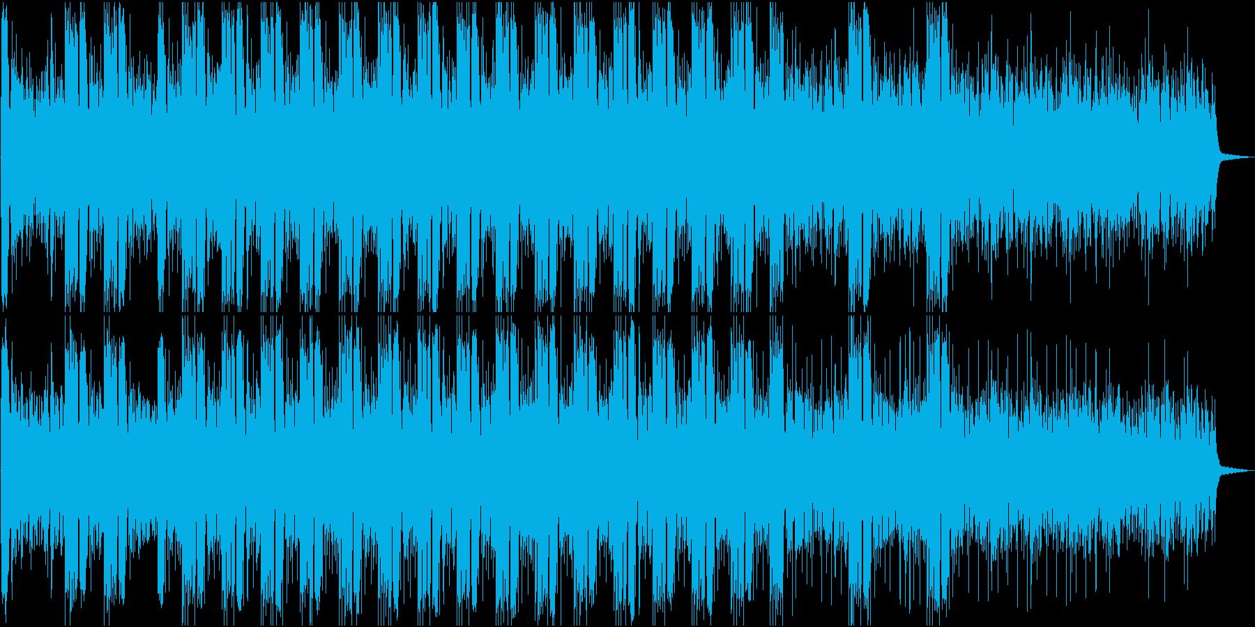 神秘的なアンビエントループの再生済みの波形