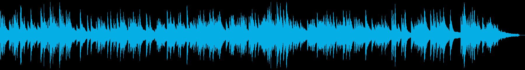 赤とんぼ ピアノソロ BGM 伴奏の再生済みの波形