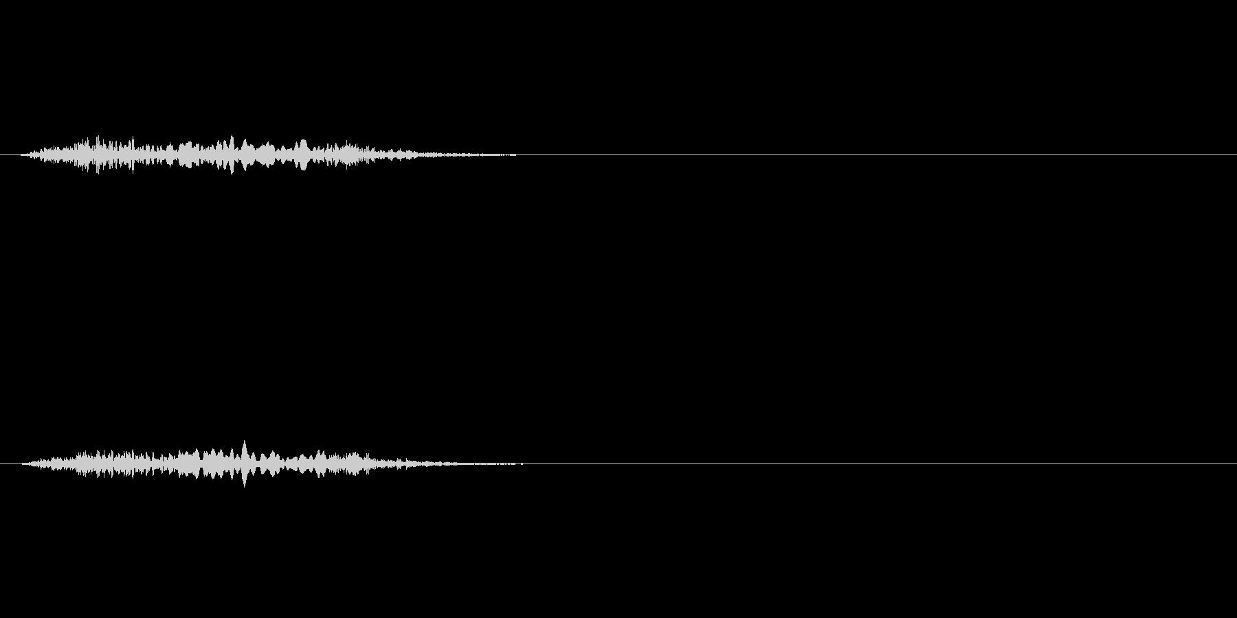 【絶叫 女性01-2】の未再生の波形