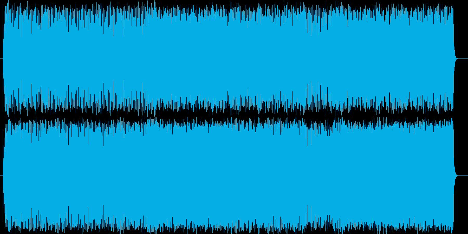 スピード 慌ただしい 激しい 挑戦の再生済みの波形