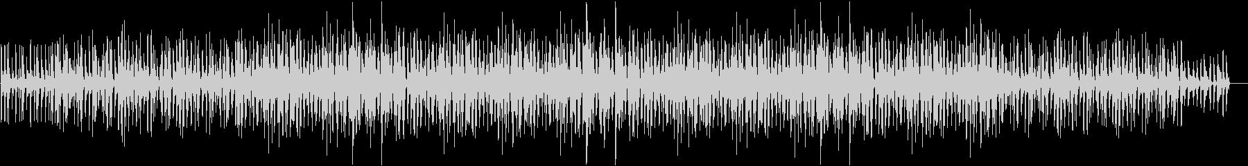 152bpm、Bb-Maj、ジャズ調の未再生の波形