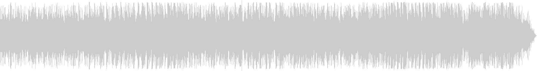 ピアノとノイズ音のエレクトロニカAの未再生の波形