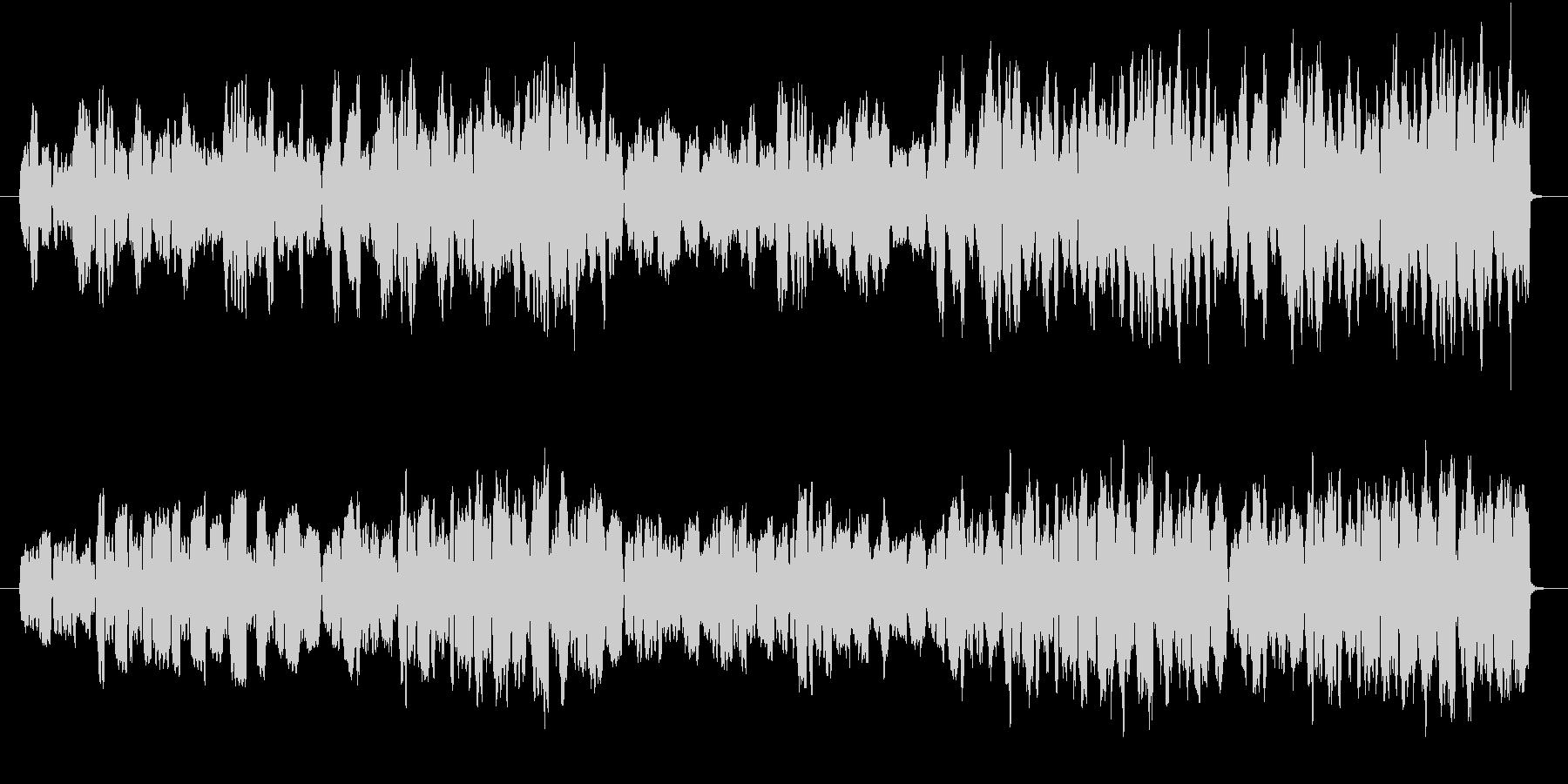 音色フルートのみでゆったりとした曲の未再生の波形