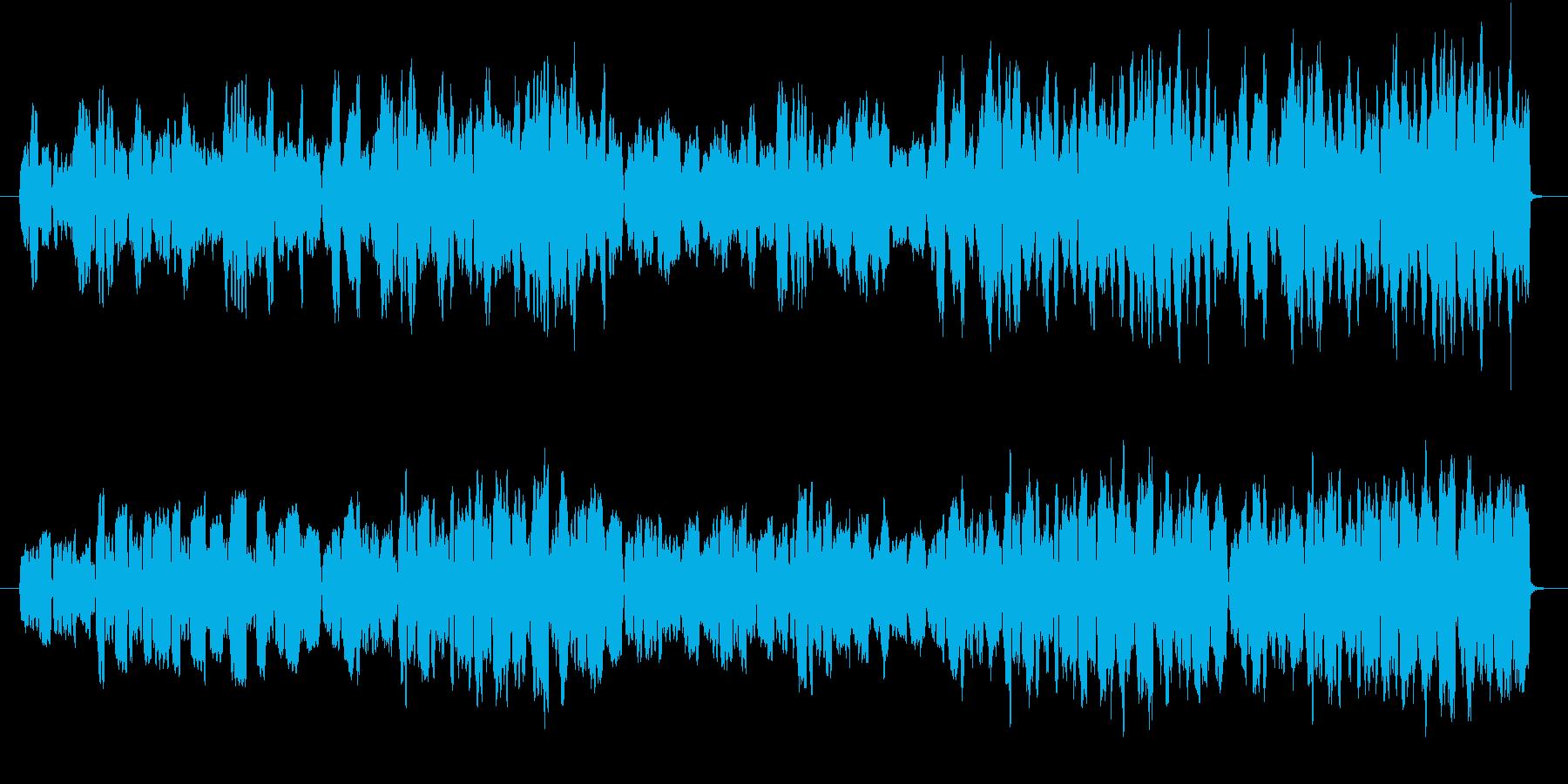 音色フルートのみでゆったりとした曲の再生済みの波形