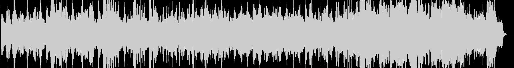 透明感のあるピアノシンセサウンドの未再生の波形