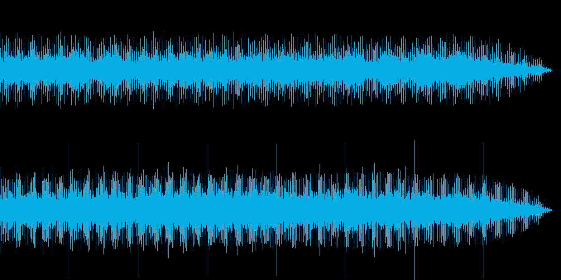 不気味でホラーなBGMの再生済みの波形