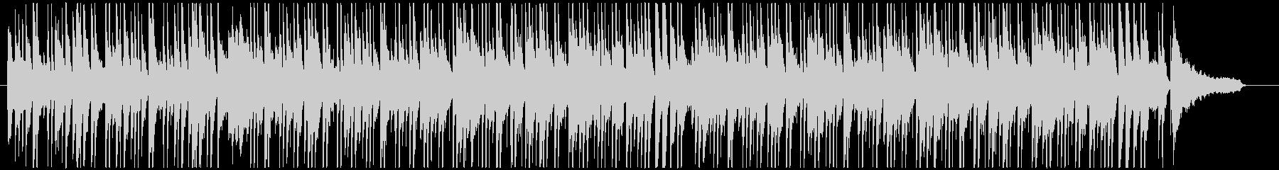 オシャレなラウンジ風のボサノバ(長め)の未再生の波形