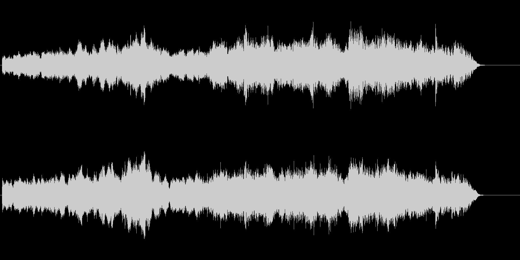 環境音楽(ネイチャー風)の未再生の波形
