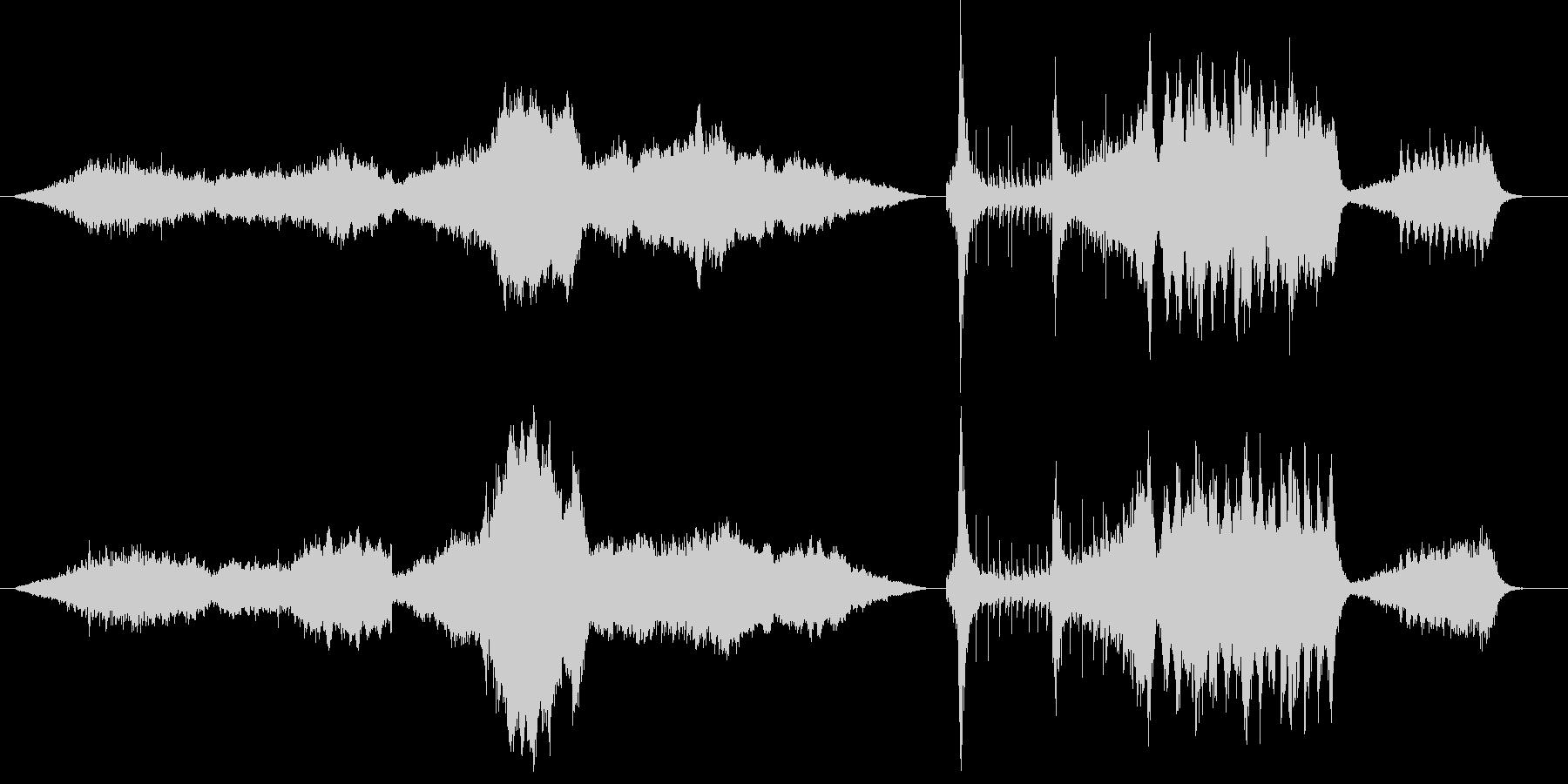 オーケストラを使った映画風BGMの未再生の波形