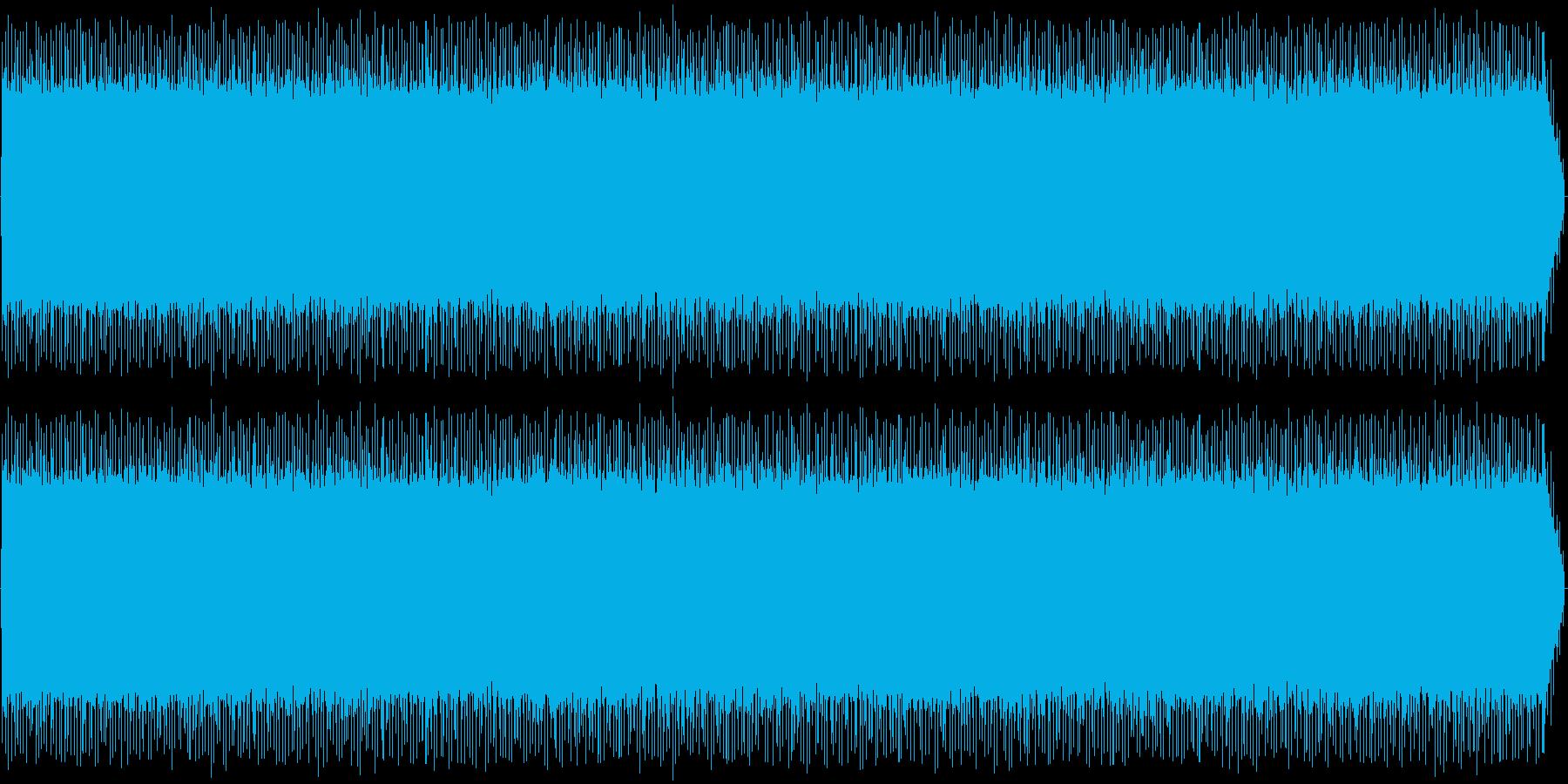 車内(車)環境音の再生済みの波形