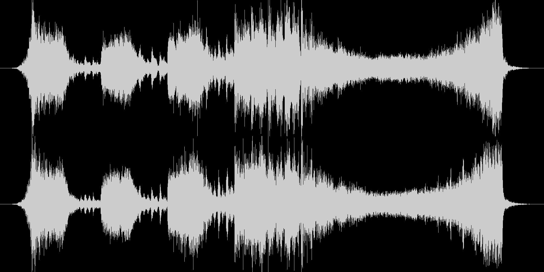 30秒CM、広告 現代オーケストラ の未再生の波形