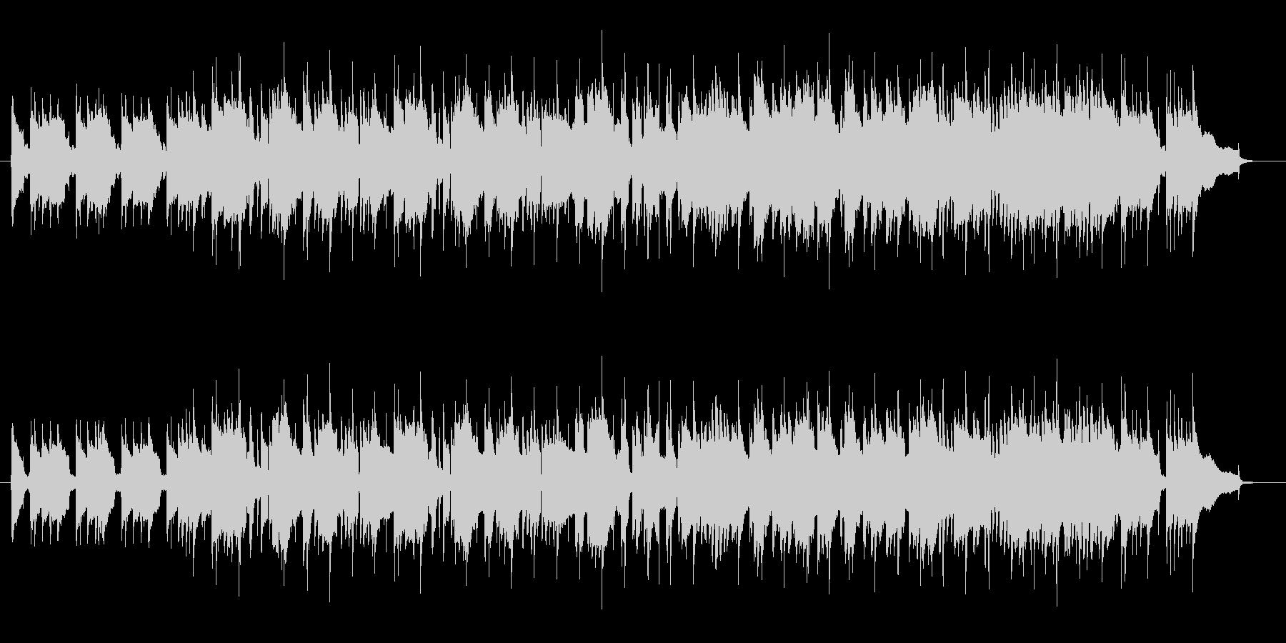 レトロなスローロックでサックスの曲の未再生の波形