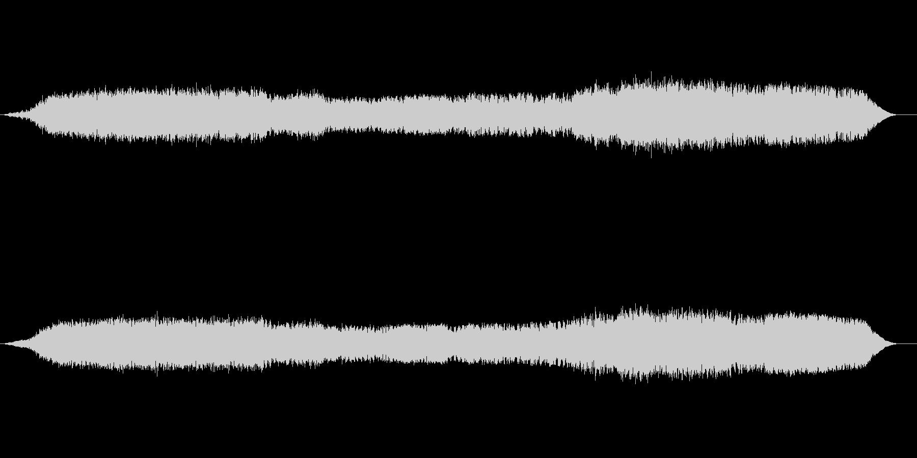 宇宙空間での遊泳のイメージのBGMですの未再生の波形
