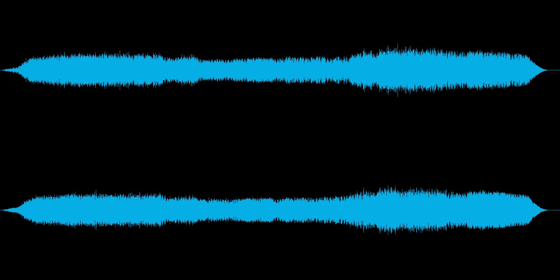 宇宙空間での遊泳のイメージのBGMですの再生済みの波形