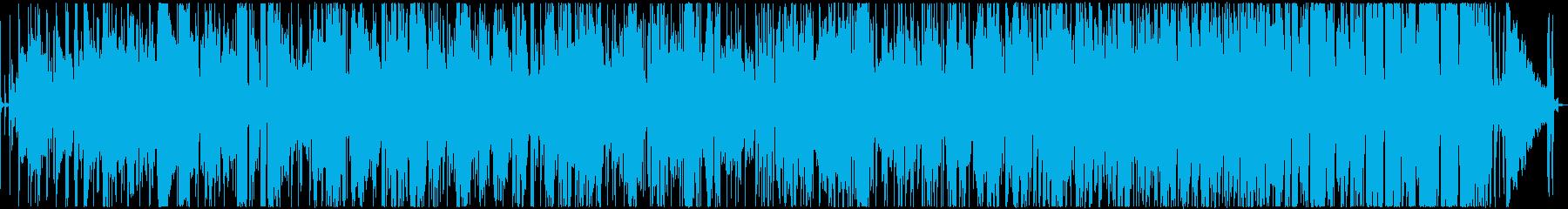 クリスマス定番曲のスムースジャズアレンジの再生済みの波形
