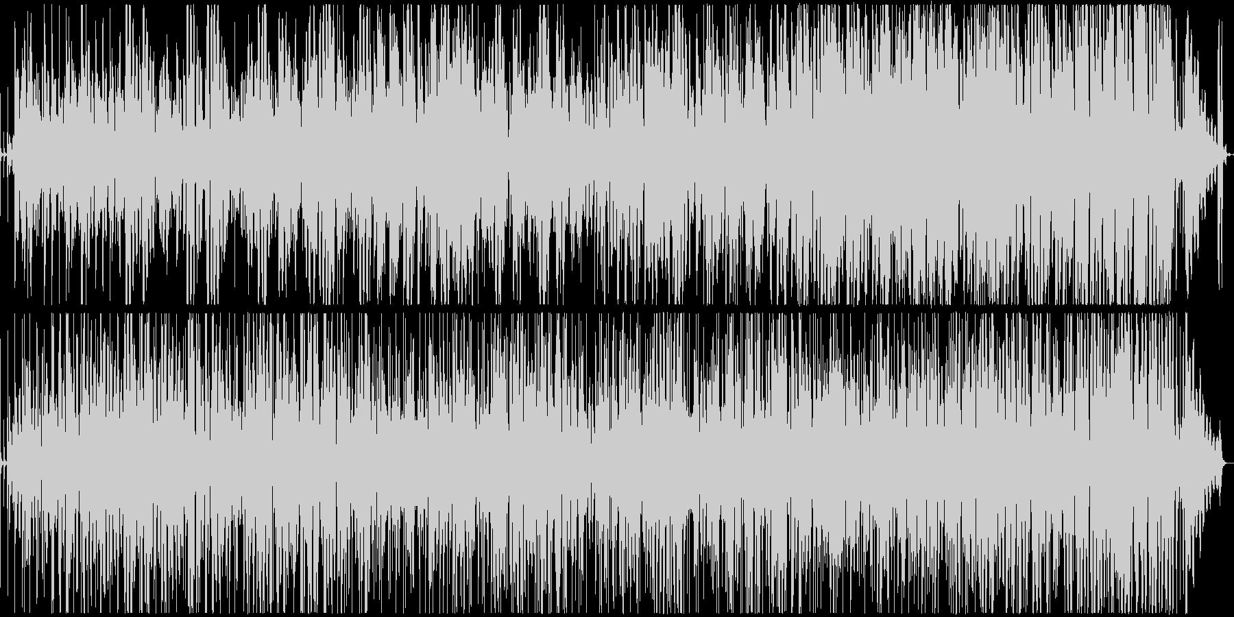 クリスマス定番曲のスムースジャズアレンジの未再生の波形