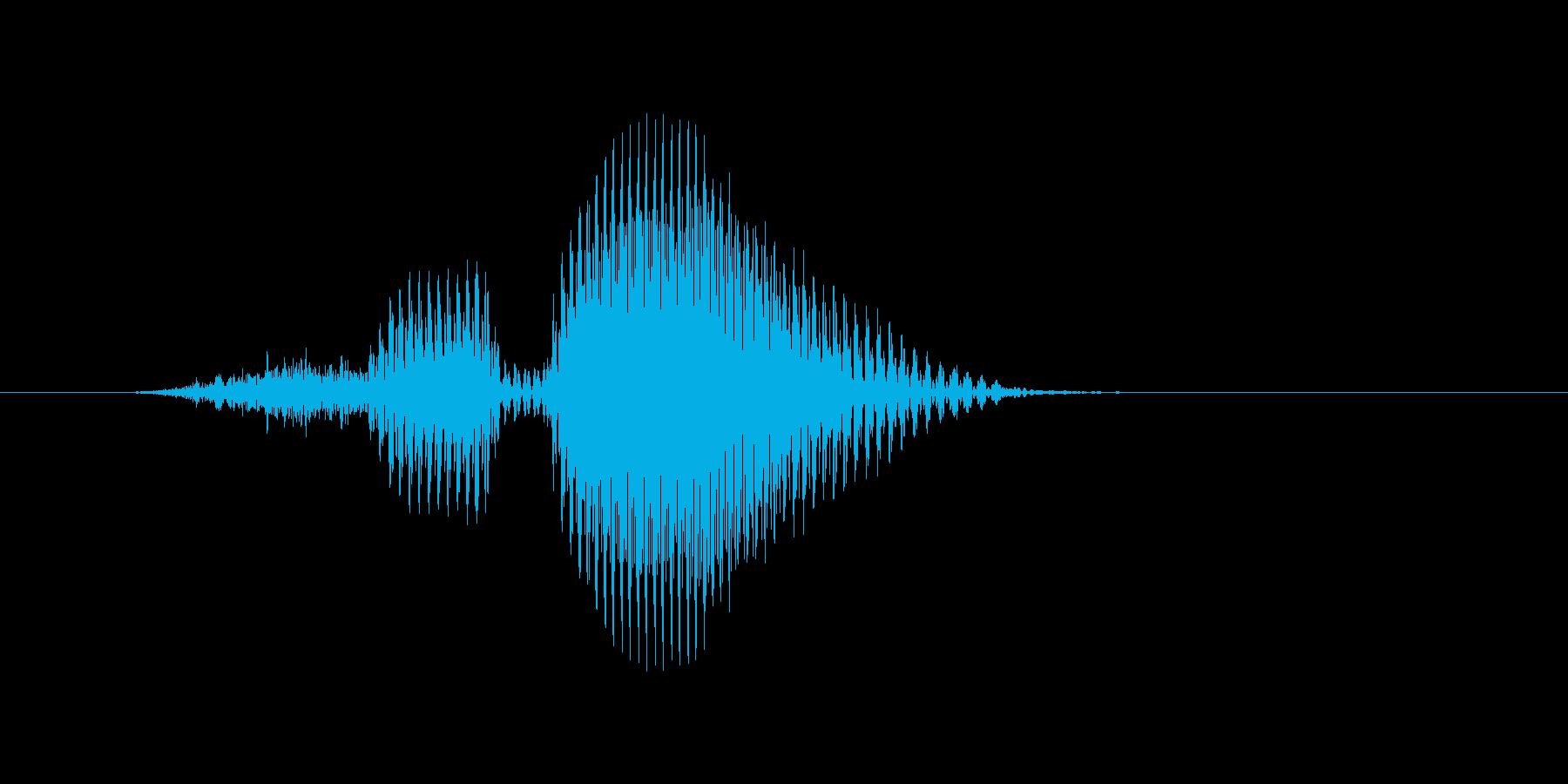 スルーの再生済みの波形