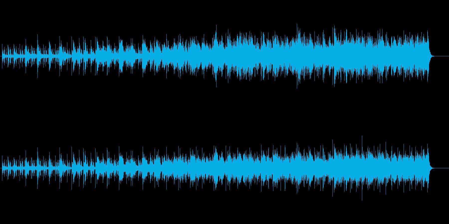 漂うようなピアノ・フュージョンの再生済みの波形