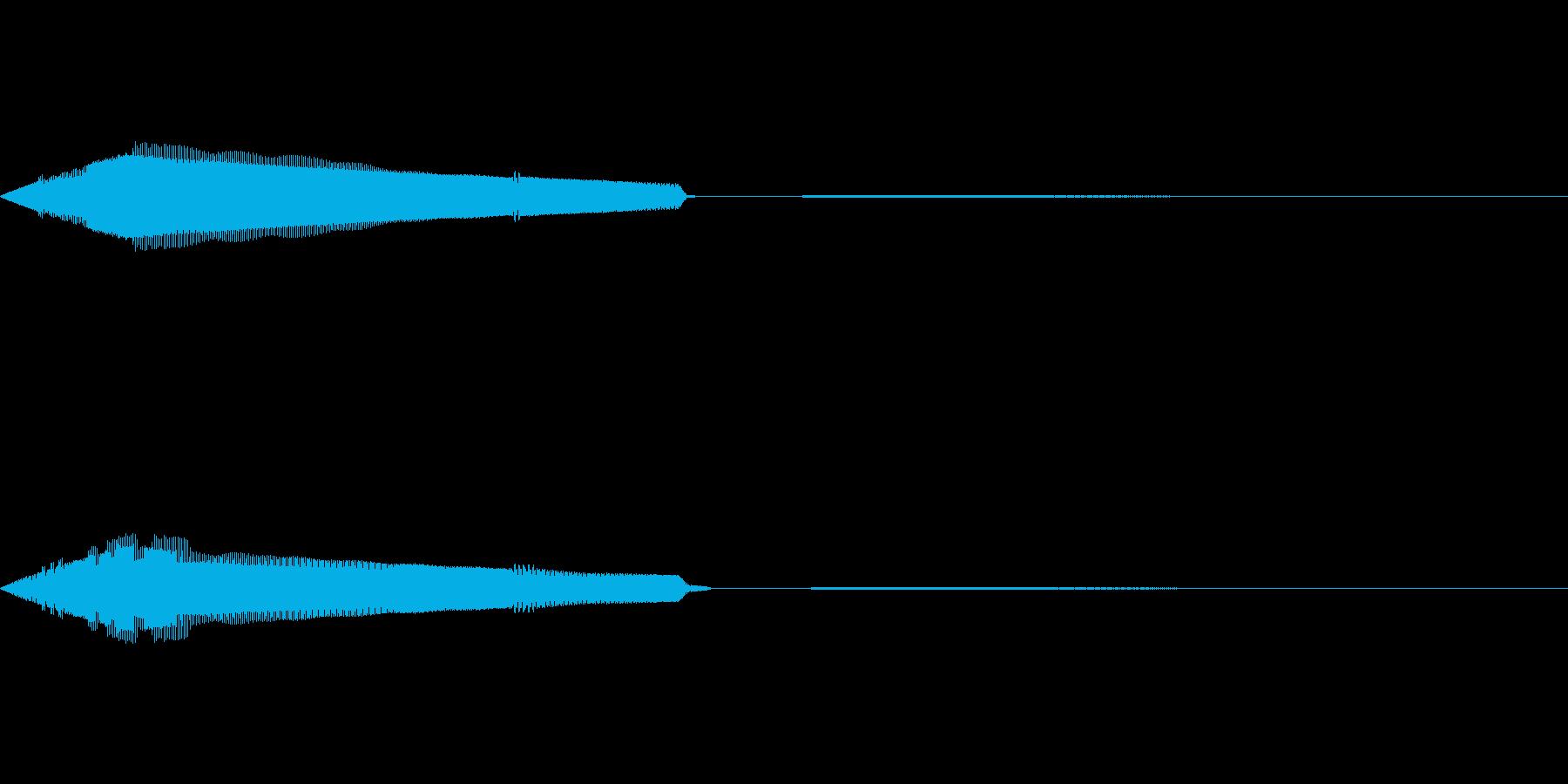 選択(8bit風)の再生済みの波形