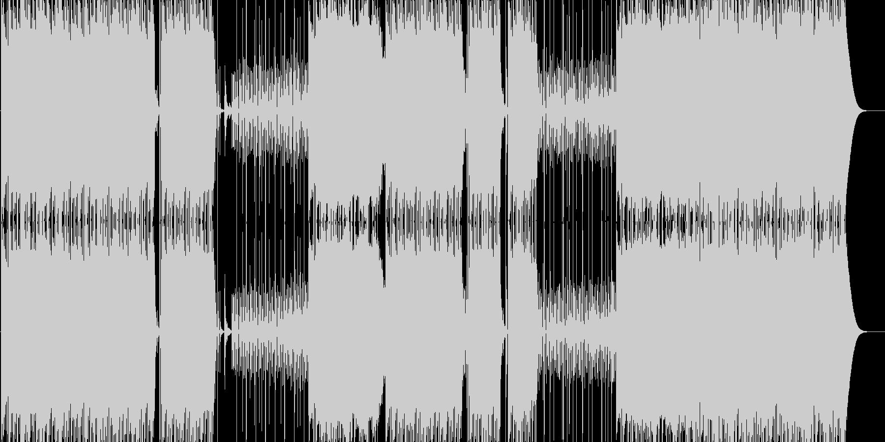 Bassの効いた極上Trap BPM76の未再生の波形