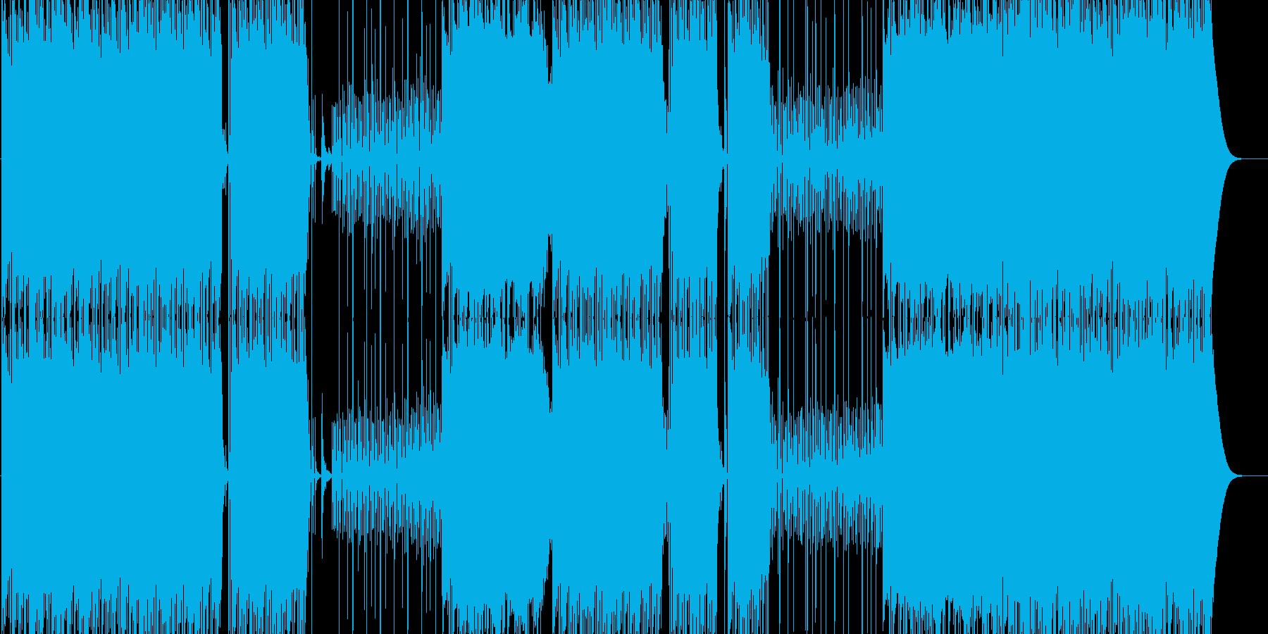 Bassの効いた極上Trap BPM76の再生済みの波形