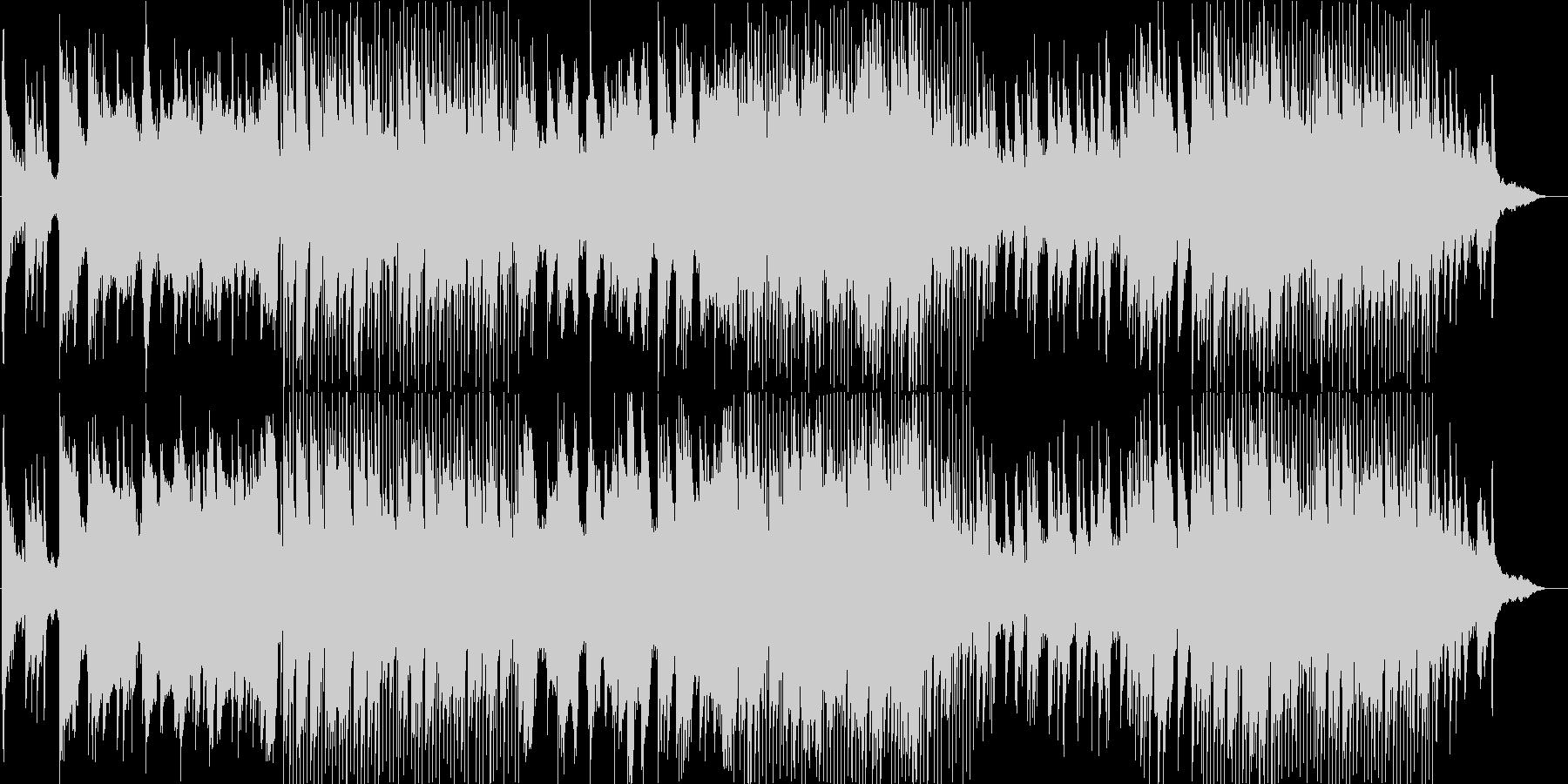 さわやかなピアノスムースジャズの未再生の波形