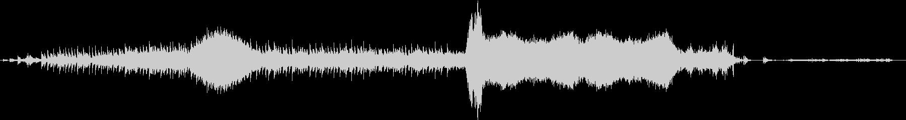 ホラー/horror/アジア寺院ループ曲の未再生の波形