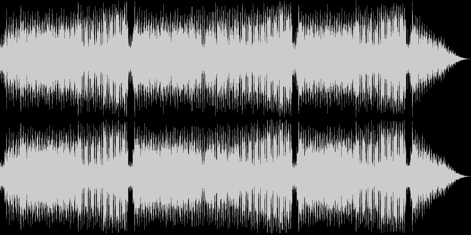 レトロ風な戦闘曲の未再生の波形
