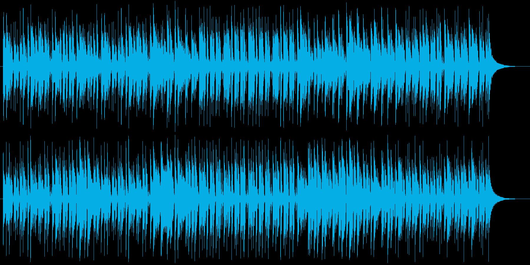 ボサノバ 優しい のんびり ラテン 午後の再生済みの波形