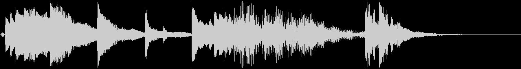 琴のワンフレーズ(和風)の未再生の波形