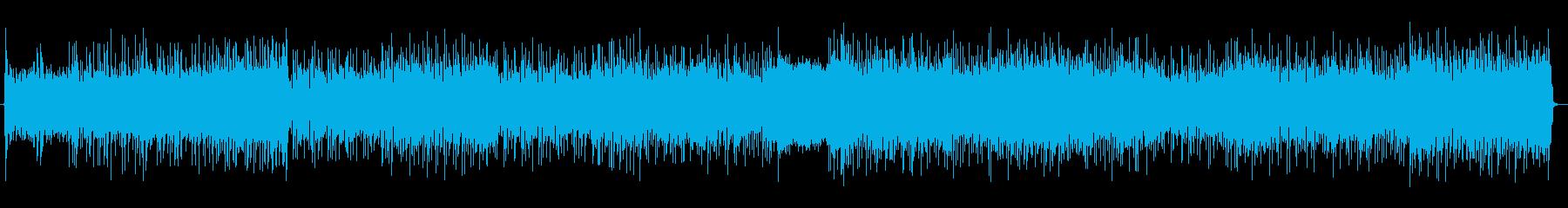 【生音】ミドルテンポのハードロックの再生済みの波形