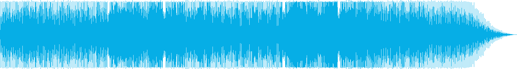 切ないシンセポップテクノ系の再生済みの波形