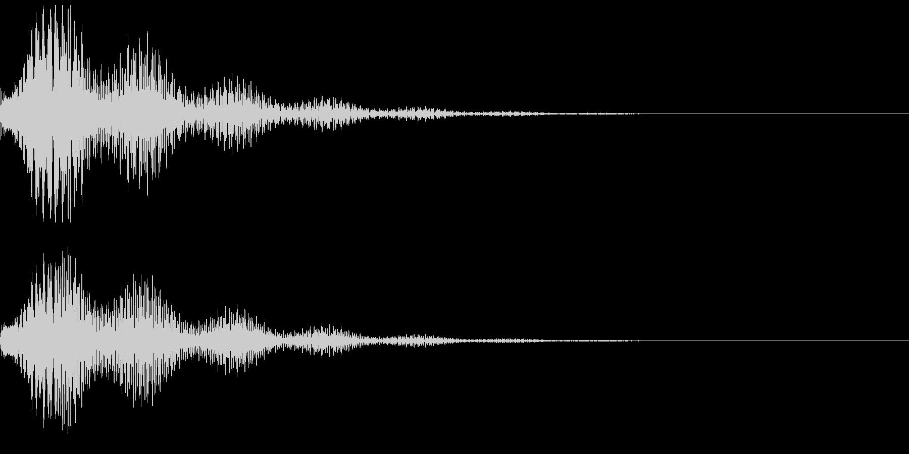 怪しい、気になる音01(テロリーン)の未再生の波形
