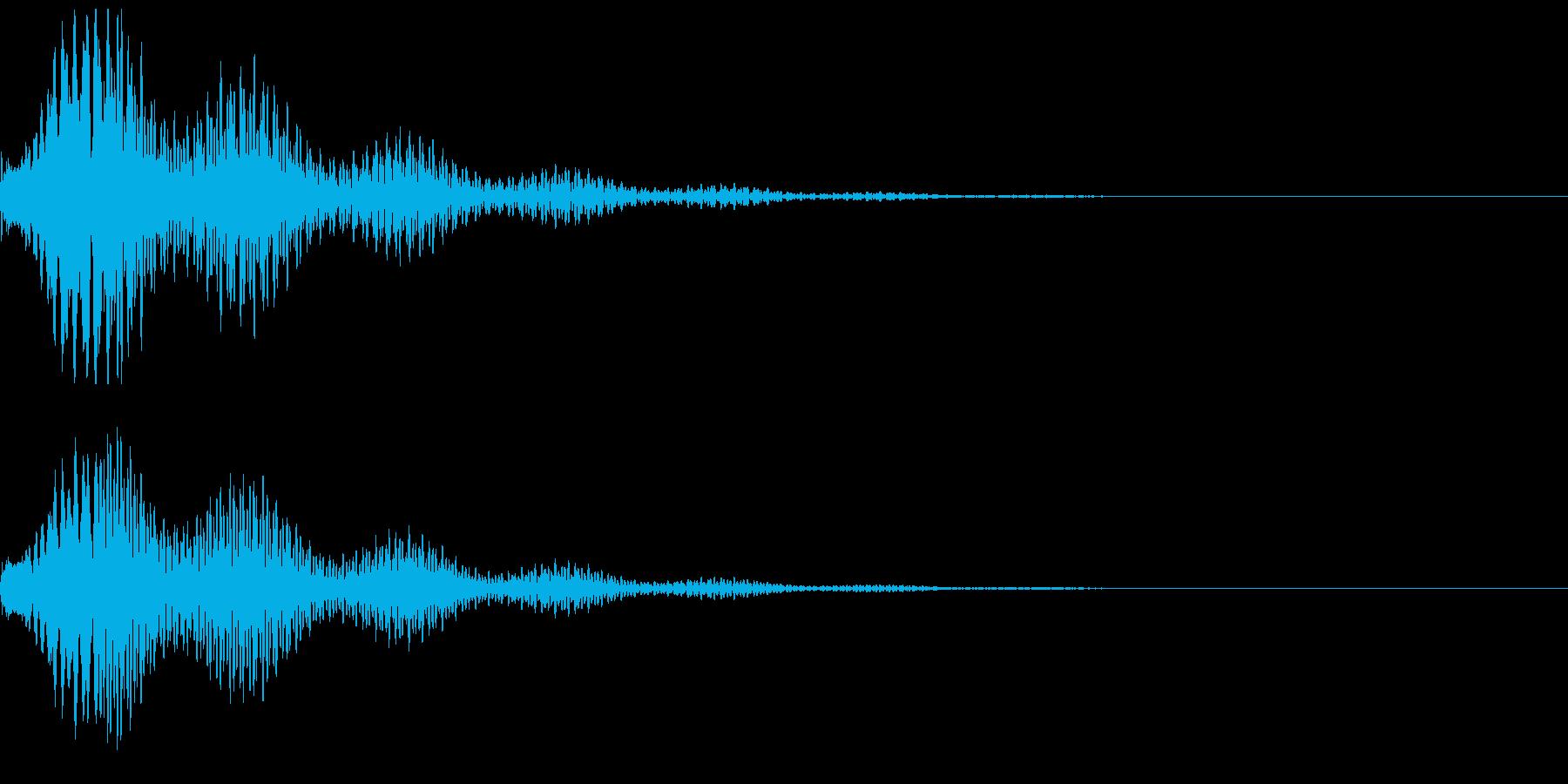 怪しい、気になる音01(テロリーン)の再生済みの波形