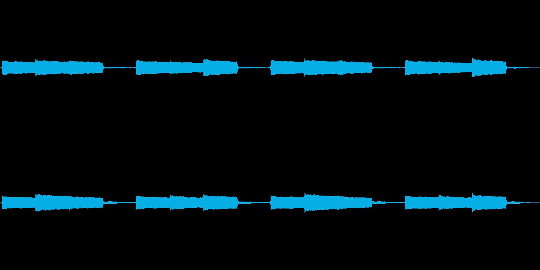 【アラーム02-2L】の再生済みの波形