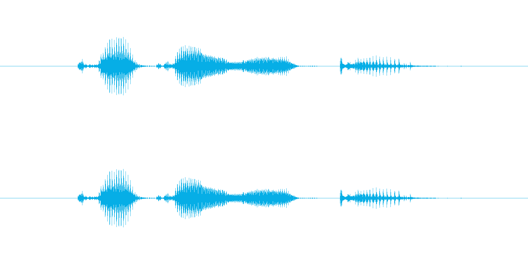 【日】9日の再生済みの波形