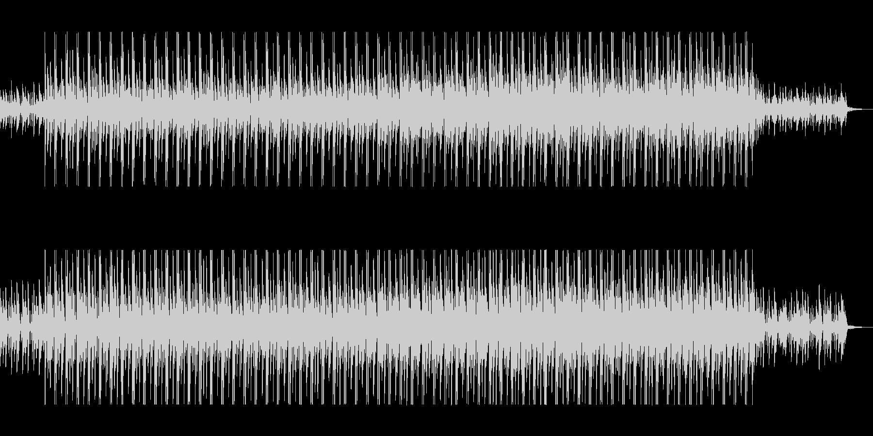 キラキラ、クールなエレクトロニカの未再生の波形