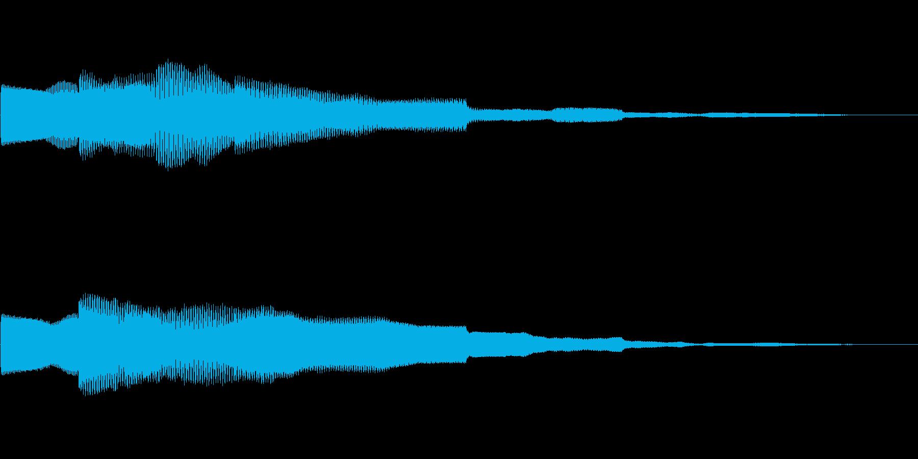 ピコーン!!クイズ回答タッチ 02の再生済みの波形