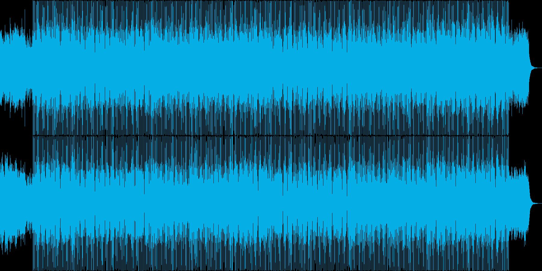 賑やかで楽しいクリスマスBGMの再生済みの波形