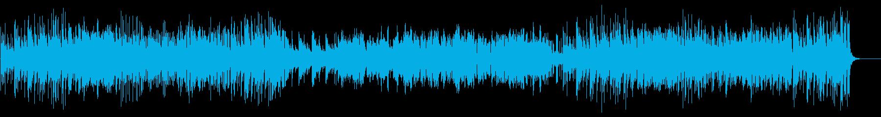 バンジョーとヴァイオリンのカントリーの再生済みの波形