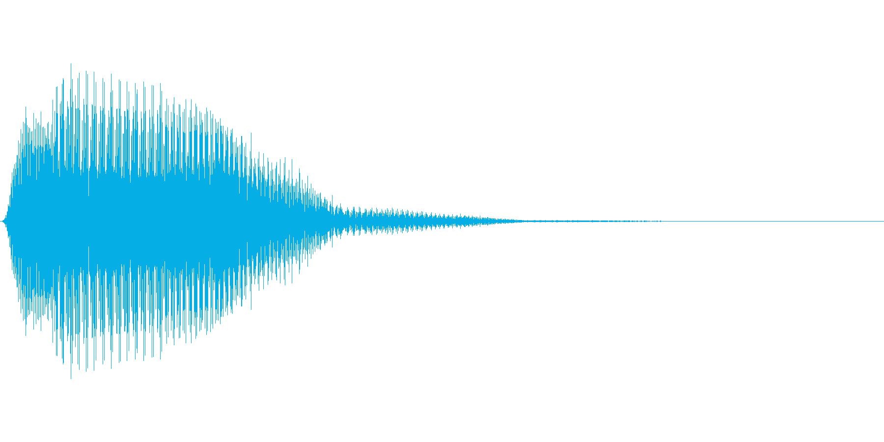 プインとかわいくて弾力感のあるSEです…の再生済みの波形